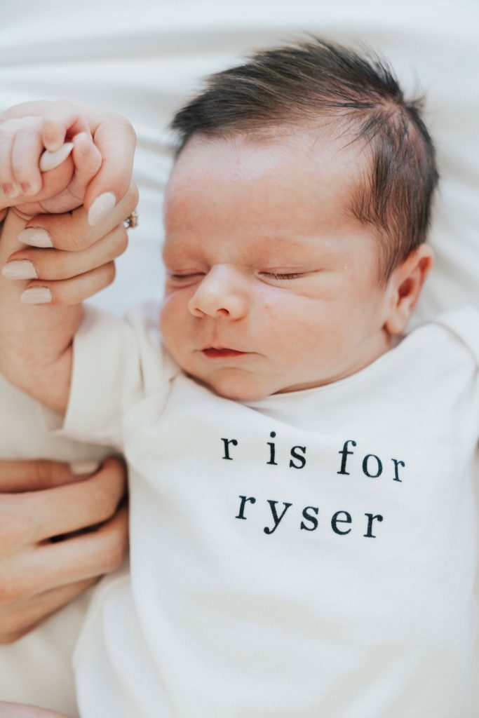 The Meaning Behind Ryser's Name featured by top US life and style blogger, Ashley Hodges