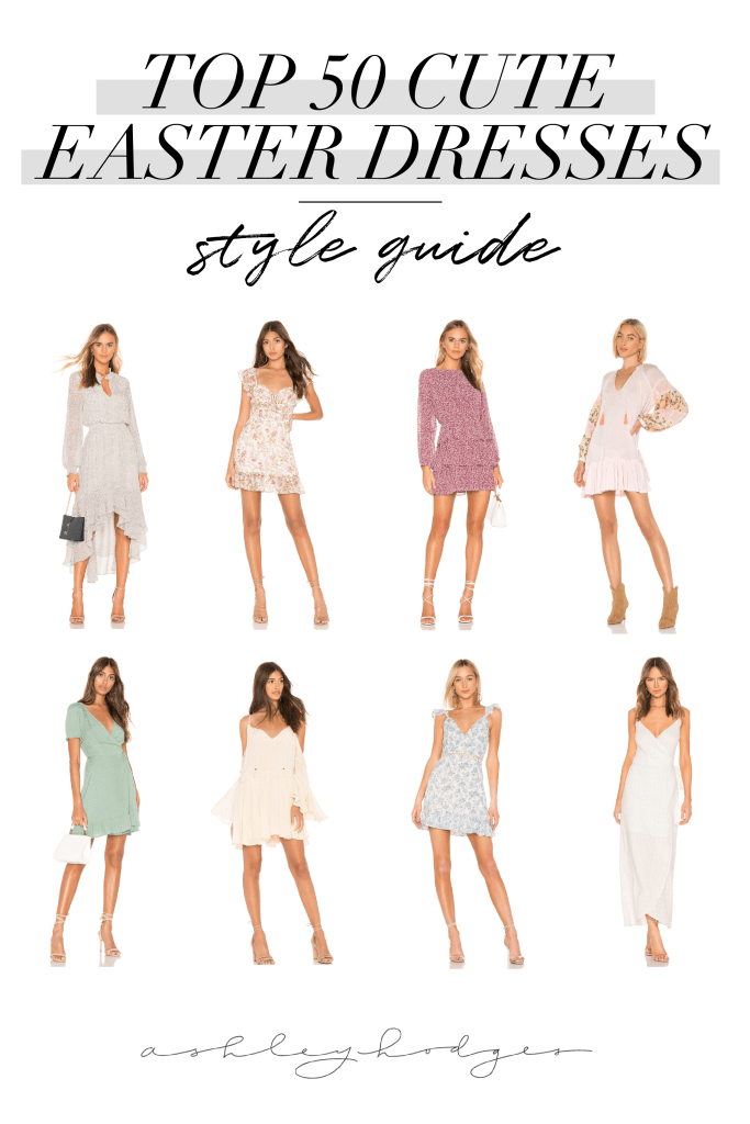 Top 50 Cute Easter Dresses featured by top US fashion blogger, Ashley Hodges
