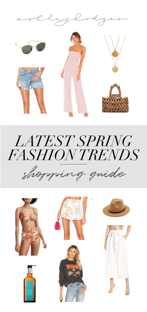 Spring fashion trends featured by top US life and style blogger, Ashley Terk