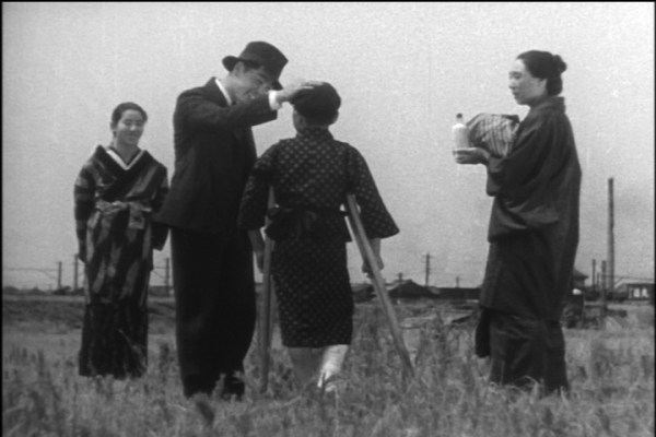 """Still from Ozu's 1936 film """"The Only Son"""""""