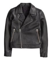 H&M - Leather Biker Jacket