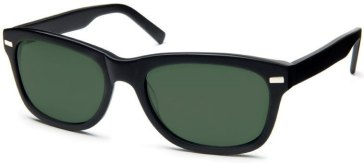 Warby Parker Black Thatcher Sunglasses