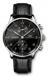 IWC Portuguese Chronomatic Black Face