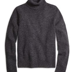 Brooks Brothers Red Fleece Marled Turtleneck