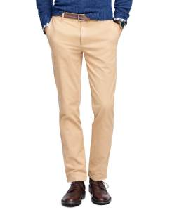 Brooks Brothers - Tan Garment Dyed Chinos