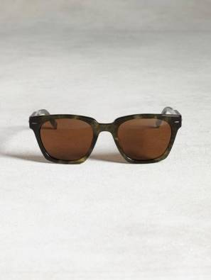 John Varvatos Bowery Square Polarized Sunglasses