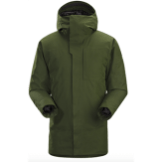 Arc'teryx Therme Green Parka
