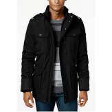 Calvin Klein Four Pocket Black Utility Jacket