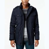 Calvin Klein Four Pocket Midnight Utility Jacket
