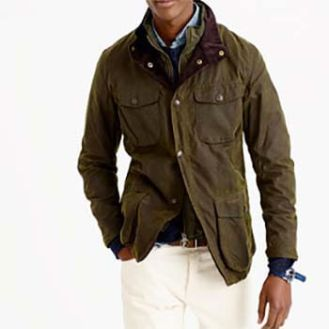 J. Crew Barbour Ogston Jacket