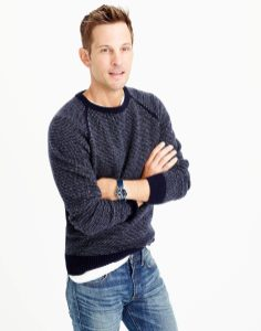 J. Crew Textured Lambswool Sweater