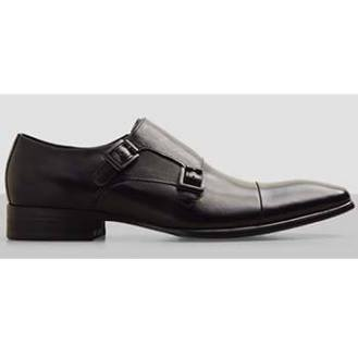 Kenneth Cole Regal Bearing Black Monk Strap