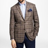 Brook's Brothers Milano Fit Multi Windowpane Sport Coat
