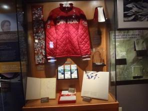 Jon Mongomery's jacket and jug