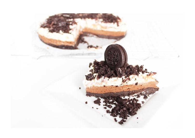 chocolade oreo cheesecake