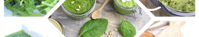 5 recepten met pesto op een rij
