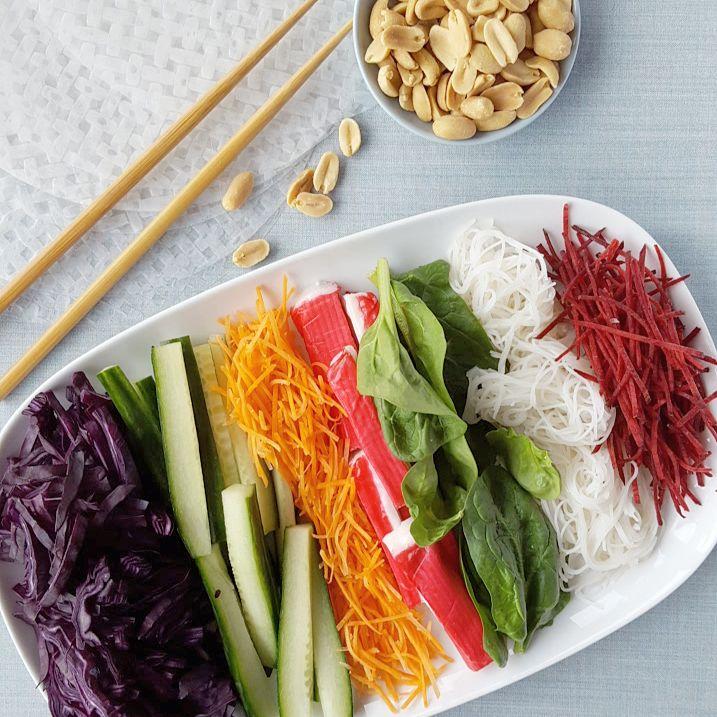 Summer springrolls boordevol groente