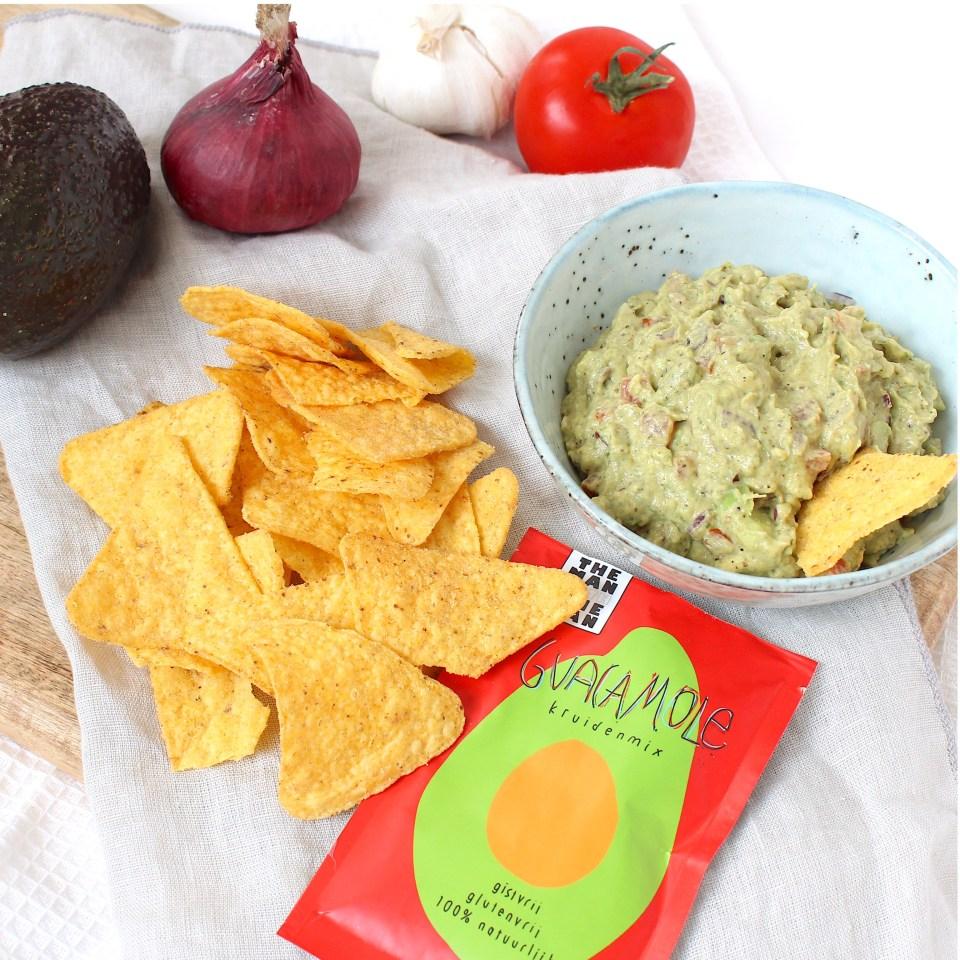 wraps met rosbief en guacamole