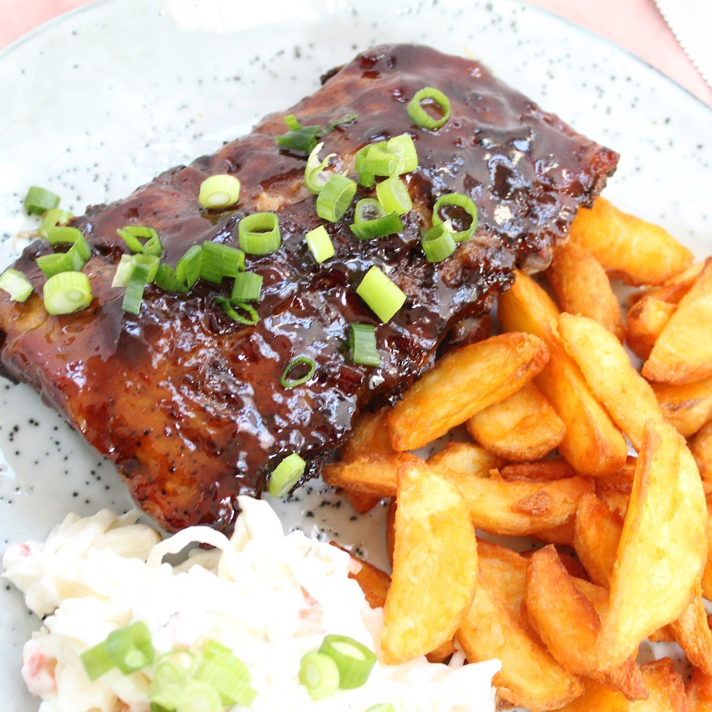 Chinese spareribs met hoisin
