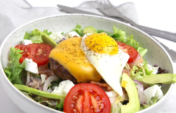 Hamburger salade