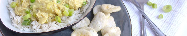 Kip kerrie uit de slowcooker of uit de gewone pan