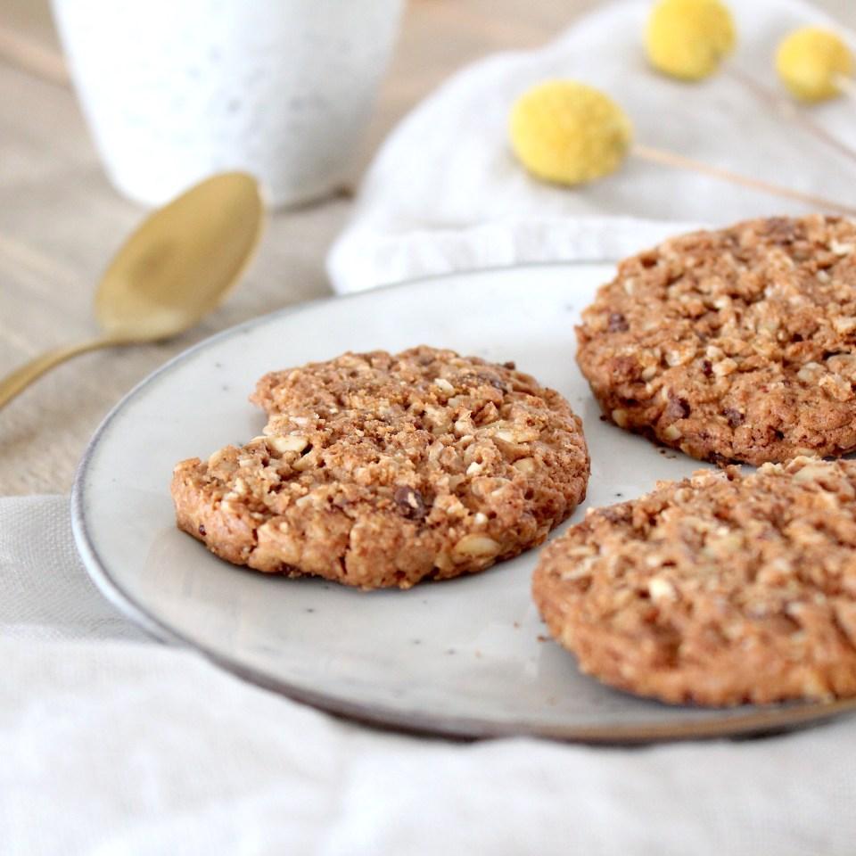Verkade Granola koekjes proeven