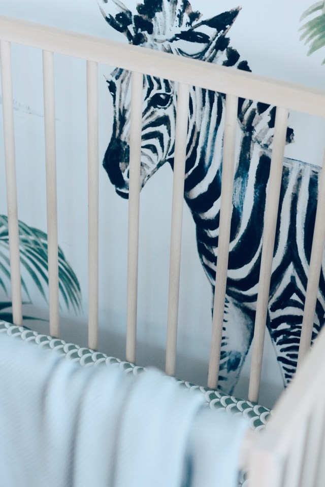 Pepijn zijn nieuwe Jungle kamer
