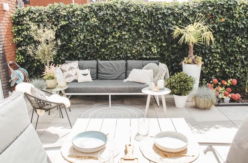 Tuin make-over met betaalbare buitenkeuken