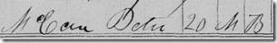 Peter McCan 1850