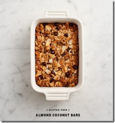 Almond Coconut Bars!