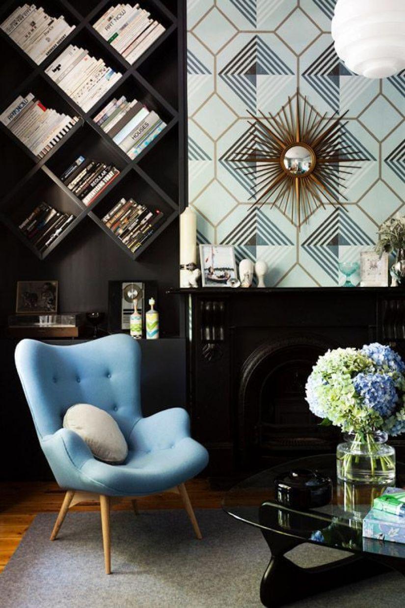 ladder shelf decor ideas