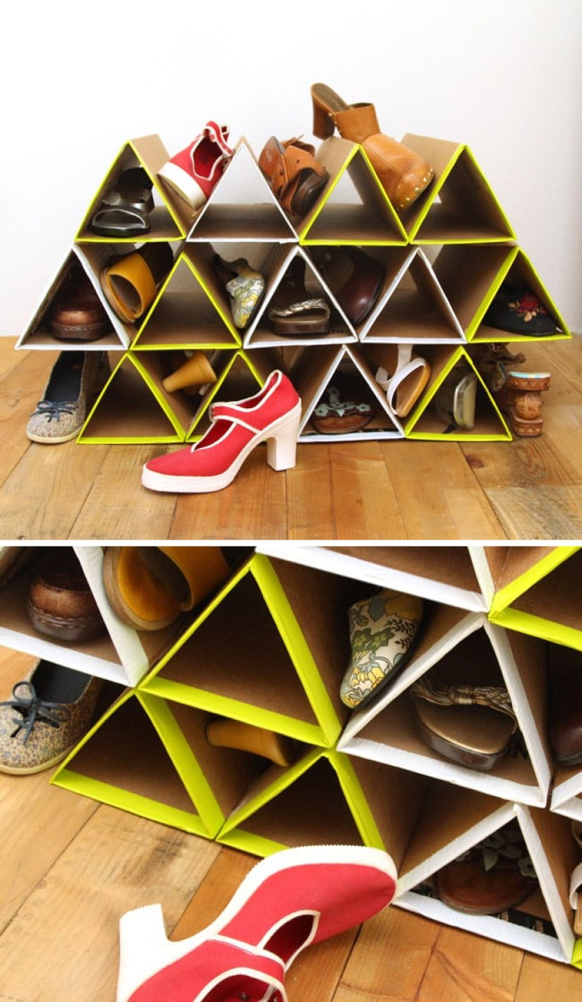 Shoe Rack Ideas DIY