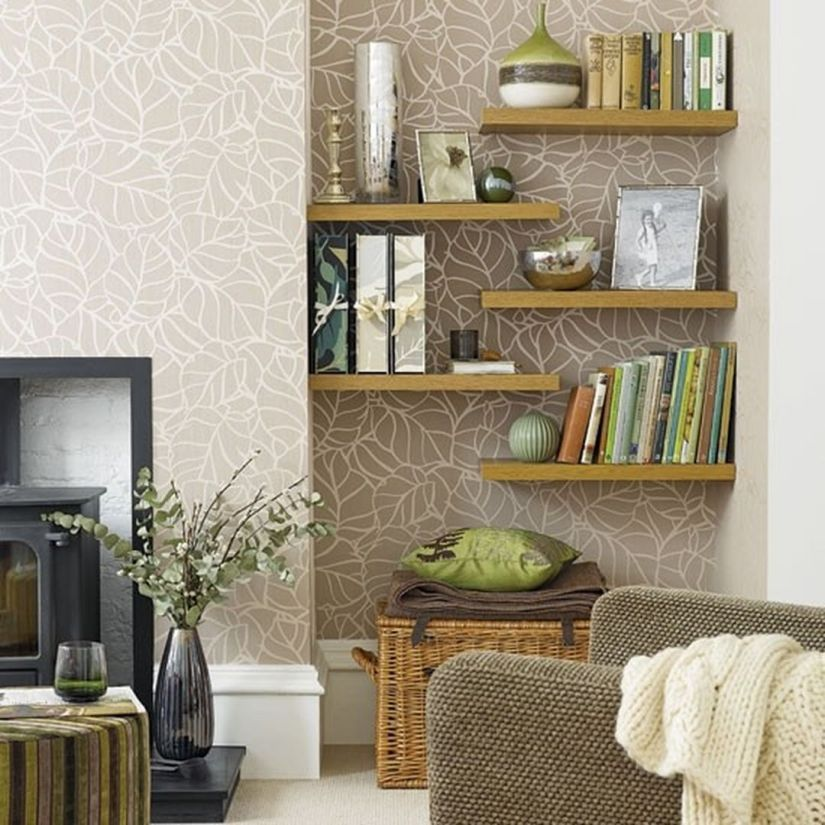 35 essential shelf decor ideas 2019 a guide to style your - Shelves design for living room ...