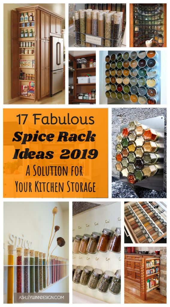 17 Fabulous Spice Rack Ideas 2019 (A Solution for Your ...