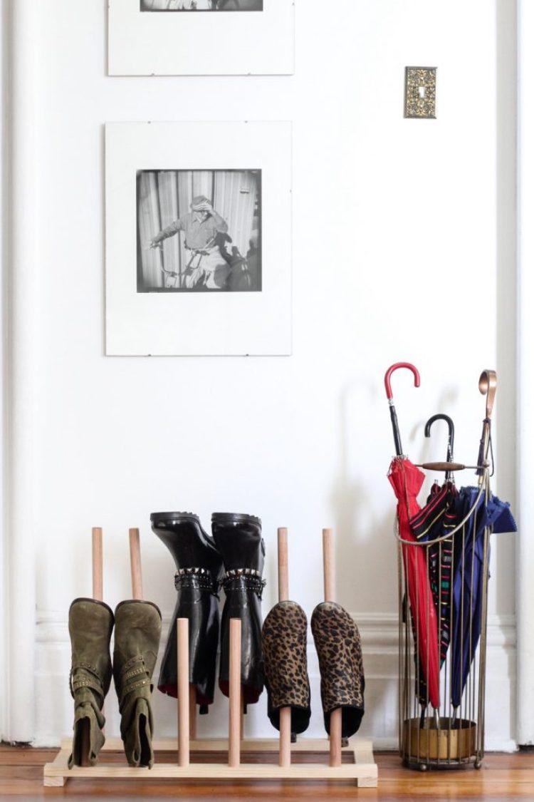 Shoe Shelf Ideas for Entryway
