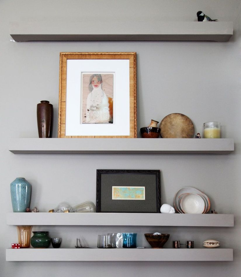wall shelf decor ideas