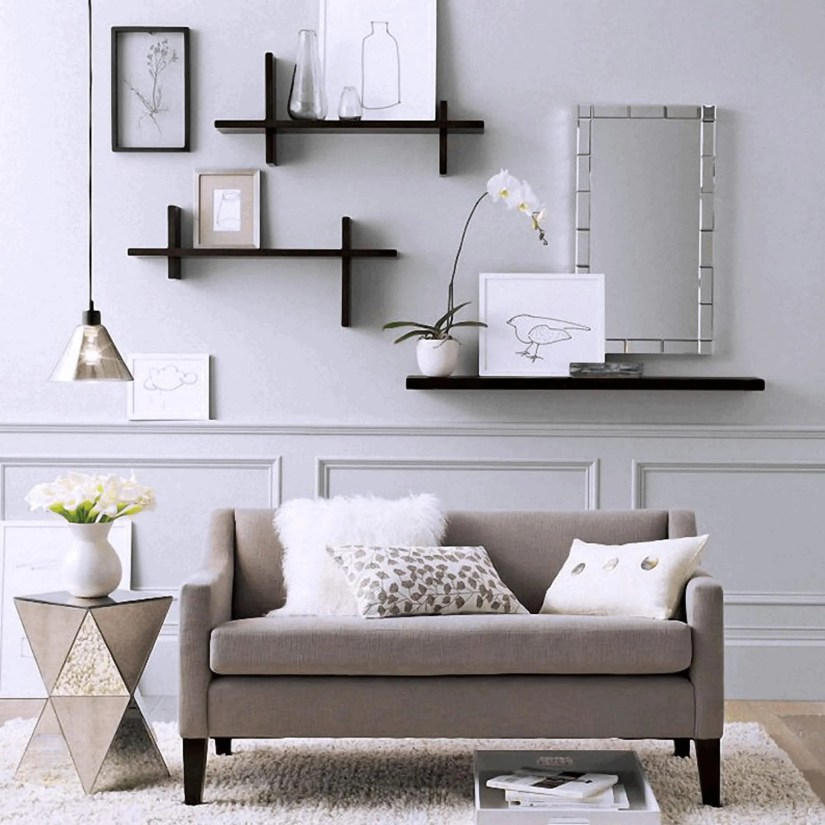 floating wall shelf decor ideas