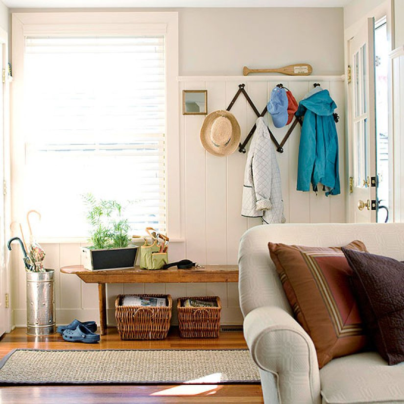 Mudroom Ideas for small space