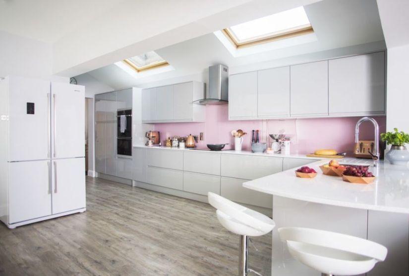 kitchen layout ideas i shaped