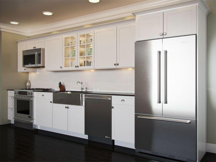 kitchen layout ideas long narrow