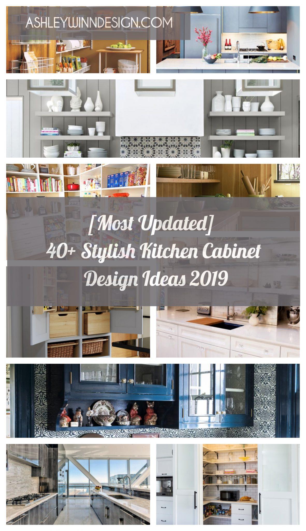 Most Updated 40 Stylish Kitchen Cabinet Design Ideas In 2021