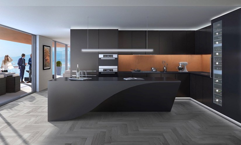 l shaped kitchen cabinets designs