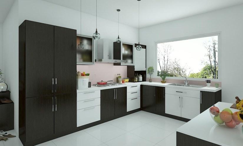 L Shaped Kitchen Designs