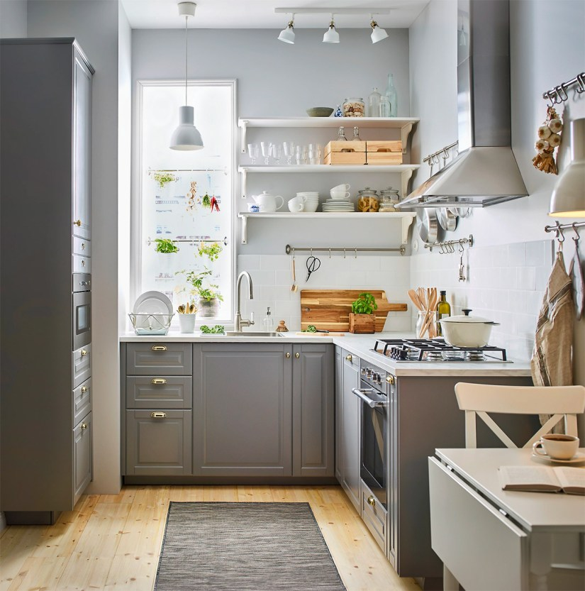 L Shaped Kitchen Ideas For Multipurpose Spaces: 43 Brilliant L-Shaped Kitchen Designs 2019 (A Review On