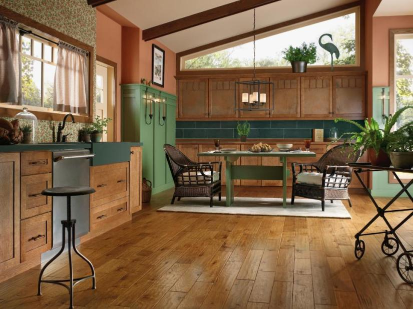 best flooring for kitchen and bath