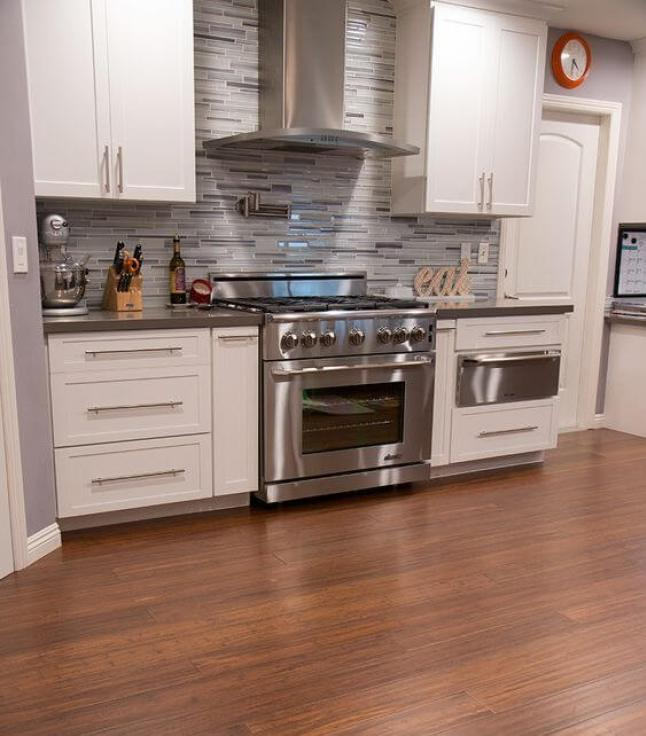 Kitchen Bamboo Flooring Ideas. Laminate Wood Kitchen Flooring & 40+ Outstanding Kitchen Flooring Ideas 2019 - Designs u0026 Inspirations