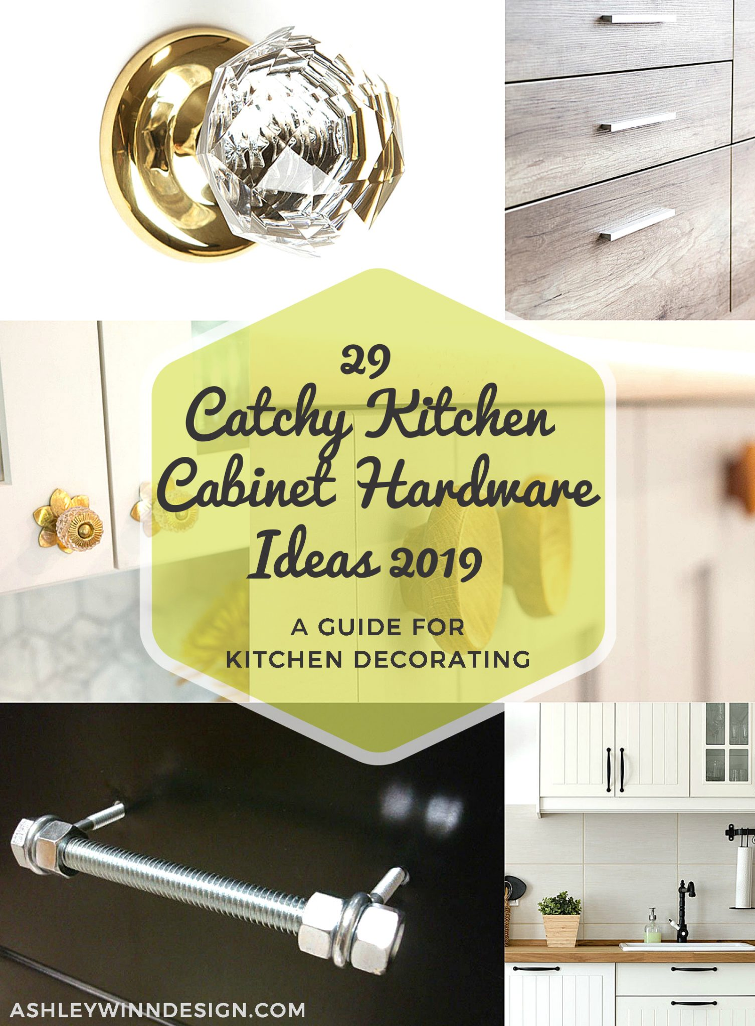 10 Kitchen Cabinet Tips: 29 Catchy Kitchen Cabinet Hardware Ideas 2019 (A Guide For
