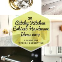 29 Catchy Kitchen Cabinet Hardware Ideas (A Guide for Kitchen Decorating)