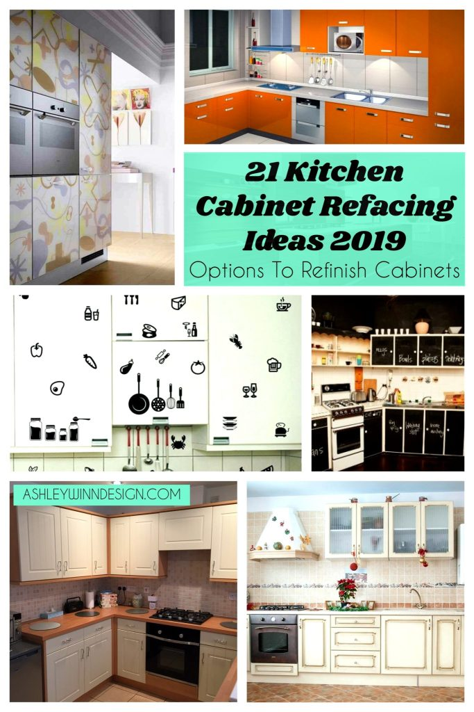 21 Kitchen Cabinet Refacing Ideas 2019 (Options To Refinish ...