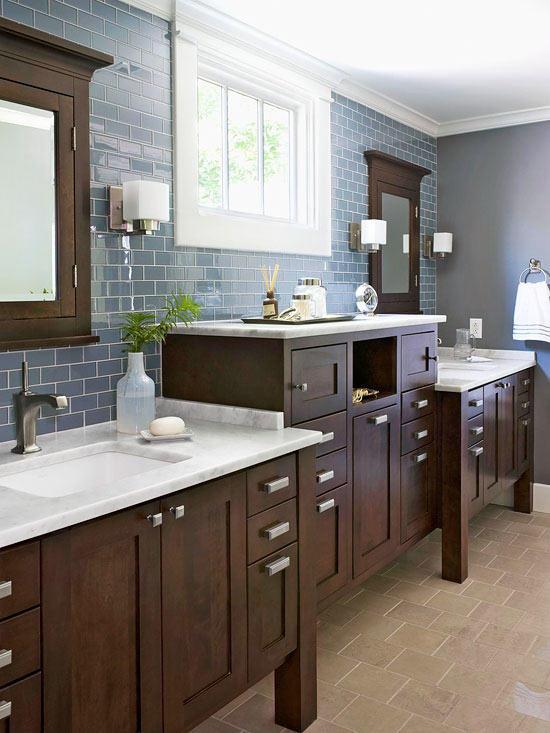 bathroom cabinet refinishing ideas